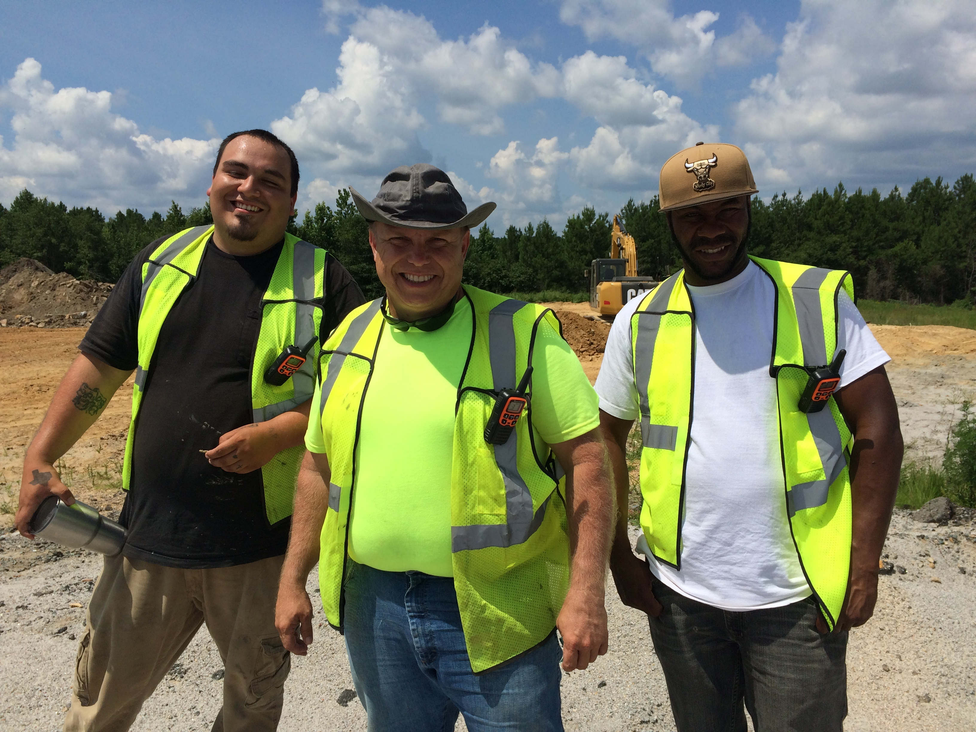 BYC VISITS CAROLINA CONSTRUCTION SCHOOL