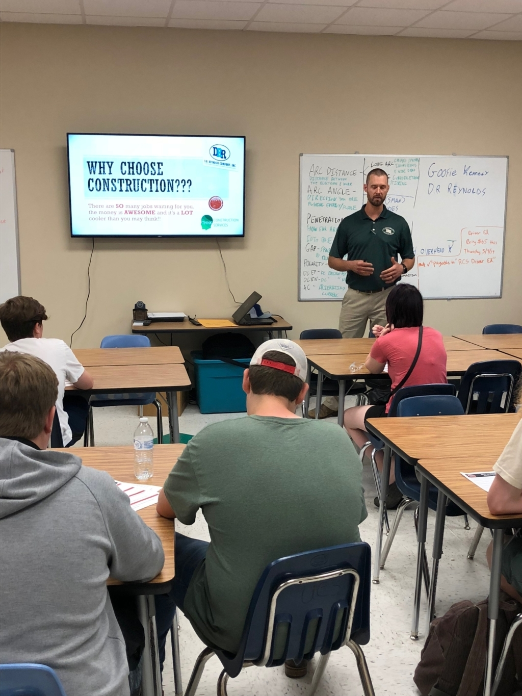 CONTRACTORS IN THE CLASSROOM PROFILE: D.R. REYNOLDS COMPANY, INC.